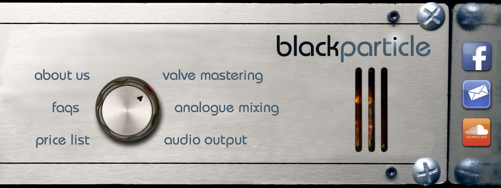black particle - valve mastering